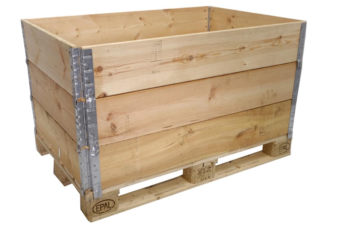 Holzaufsatzrahmen, gebraucht, A Qualität,  4 Scharniere, faltbar, 1200x800x200mm
