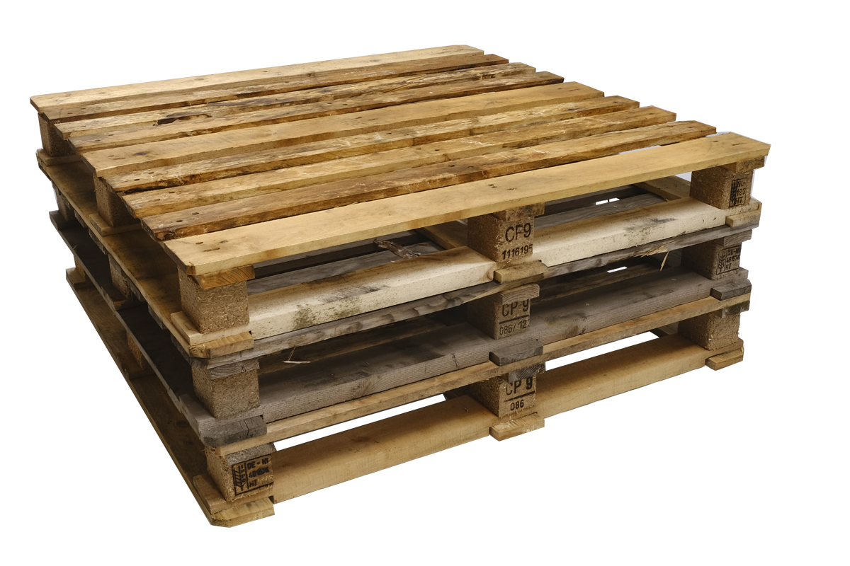 CP9 Paletten, gebraucht, 9 Deckbretter, Rahmenpaletten, Schwere Ausführung, 1140x1140mm